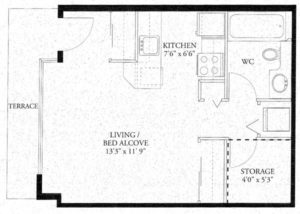Junior Suite - Low Floor Plan
